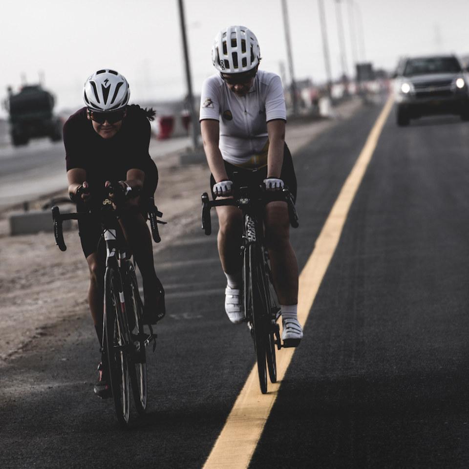 Unassisted ultracycling race - BikingMan OMAN #2 February 2019